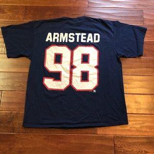1998 Lee Sports Jessie Armstead Giants Tee